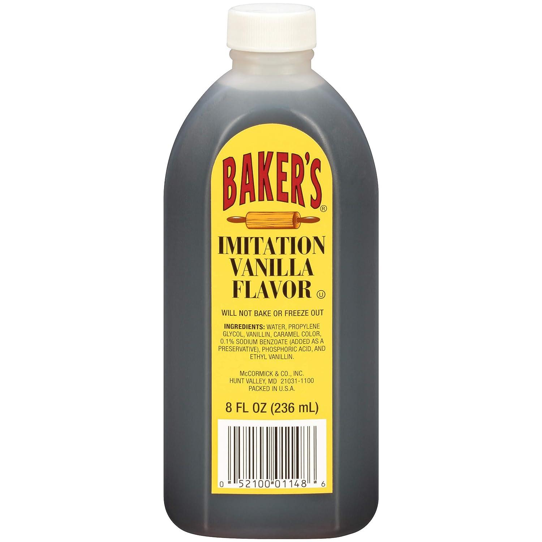 Baker's Imitation Vanilla Dedication Flavor 5% OFF oz fl 8