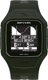 Rip Curl Men's SearchGPS Series 2 Digital Display Quartz   Outdoor Sports Waterproof Watch, Display Quartz, Activity Tracker, Detailed Tide View with Alarm, Stopwatch + Timer