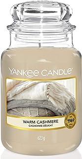 Yankee Candle bougie jarre parfumée | grande taille | Cachemire délicat | jusqu'à 150 heures de combustion