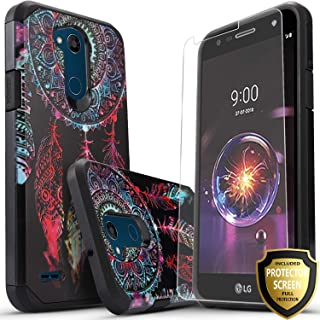 LG Fiesta 2 Phone Case, LG X Power 2 Case, LG Fiesta LTE Case, LG X Charge Case, Starshop [Shock Absorption] Impact Advanced Protective Phone Cover with [Premium HD Screen Protector] [Dream Catcher]