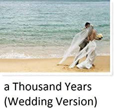 A Thousand Years (instrumental Wedding Version) - Single