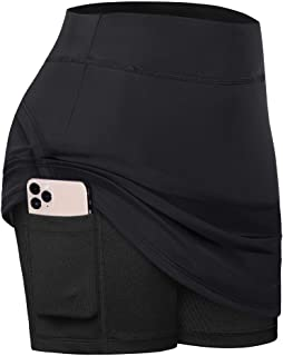 Fulbelle Womens Summer Athletic Tennis Skirt Golf Skorts with Pockets