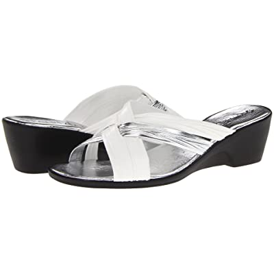PATRIZIA Apricot (White Leather) Women