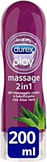comprar comparacion Durex Massage 2 In 1 Aloe Vera 200 Ml 1 Unidad 200 g