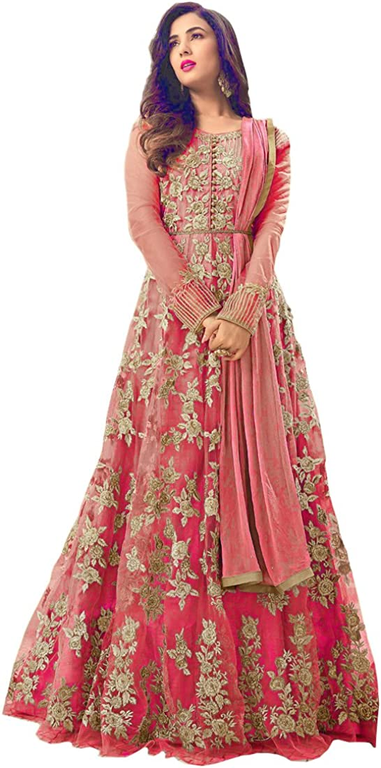 SKY VIEW FASHION Women's Wear Anarkali Salwar Soft Kameez At the price Raleigh Mall of surprise Net Lo