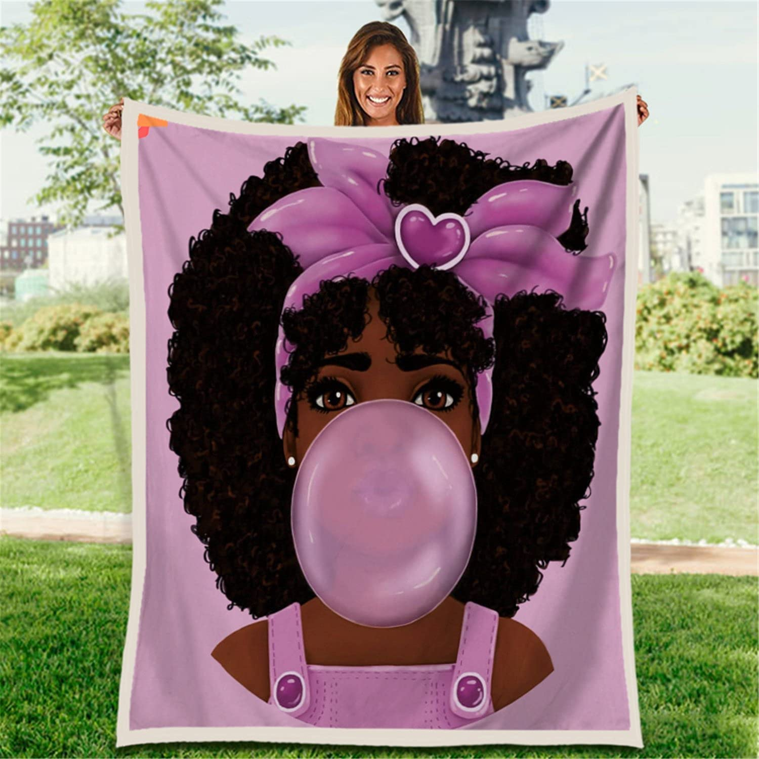 EasyNatues Customizable Name Max 67% OFF African Ultra Our shop most popular Blanket American Girl