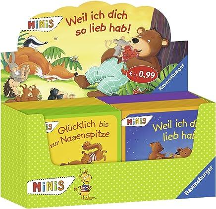 Verkaufs-Kassette Ravensburger Minis 89 - Weil ich dich so lieb hab: Weil ich dich lieb hab / Weil ich immer bei dir bin / Mausebär ich mag dich sehr / Glücklich bis zur Nasenspitze