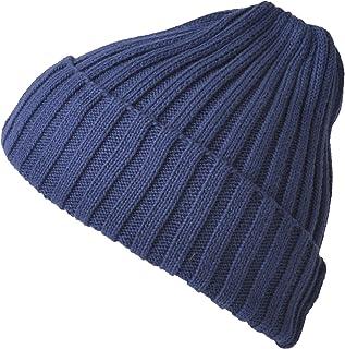CHARM ニット帽 帽子 [ フリーサイズ 展開 ] コットン ストレッチ リブ ビーニー ワッチ (コットン100%)