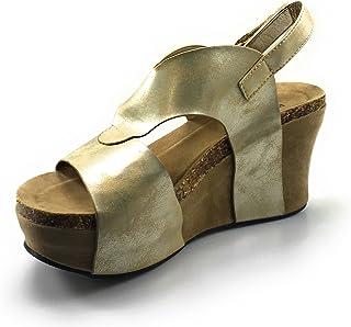 Pierre Dumas Womens Hester-6 Wedge Sandal