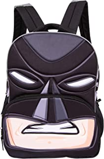 DC Comics Batman Neoprene Backpack - DC Comics Batman Big Face 3D Backpack