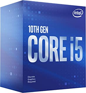 Intel® Core™ i5-10400F Desktop Processor 6 Cores up to 4.3 GHz Without Processor Graphics LGA1200 (Intel® 400 Series chips...