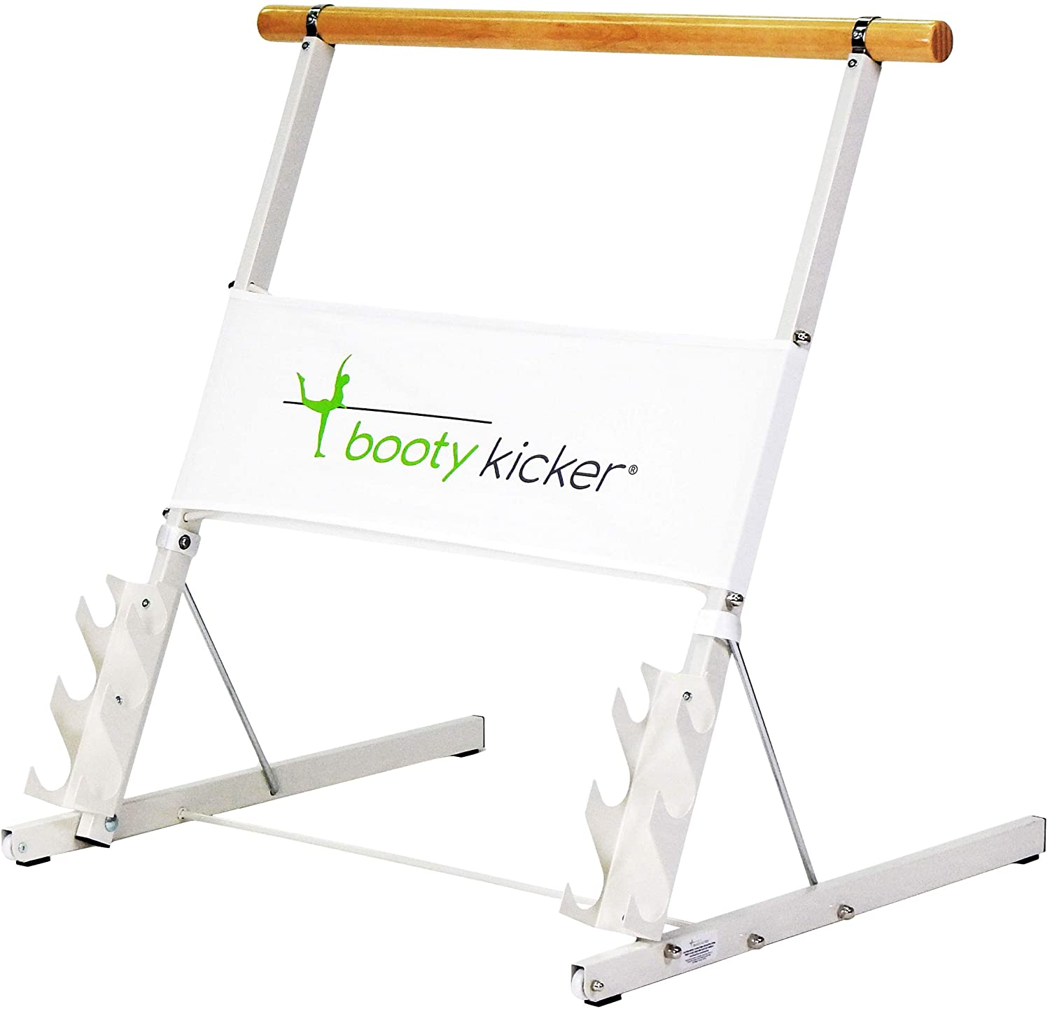 Booty Kicker – Home 上等 Fitness Folds Exercise 品質保証 Flat Portable Barre