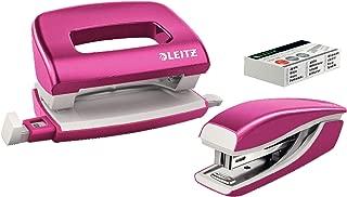 Inkl. 1000 P2 Heftklammern Nr. 10 metallic pink Leitz 55312023 Heftzange