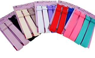 15mm Wide Band Fashion Stylish Bra Straps, Women's Accessories 10 Color Set