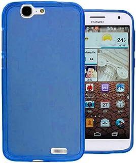 244c22332b2 TBOC® Funda de Gel TPU Azul para Huawei Ascend G7 de Silicona Ultrafina y  Flexible