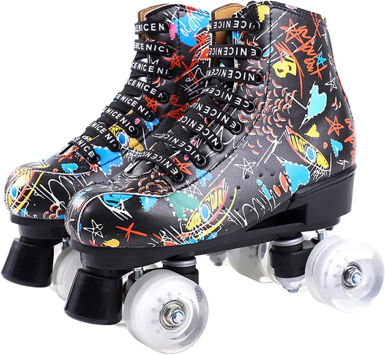 CHENGSYSTE Inline Skates Women 6 Roller Pu Price reduction Microfiber Ranking TOP18 Choice Ska