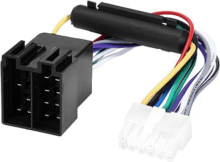 YOHOOLYO Cavo Connettore Autoradio ISO Adattatore 12 PIN per JSD520 JSD20158 1068BT ecc