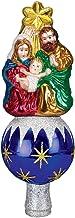 Old World Christmas Ornaments: Nativity Tree Top Glass Blown Ornaments for Christmas Tree