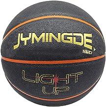haodene - Balón de baloncesto con luces de alto brillo, permanente, luminoso en la oscuridad, para niños y adultos, para jugar o entrenar por la noche