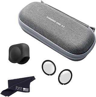 Insta360 ONE X2 Carry Case, Lens Guard & Lens Cap Bundle (3 Items)