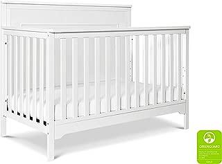 Carter's by DaVinci Dakota 4-in-1 Convertible Crib in White | Greenguard Gold Certified