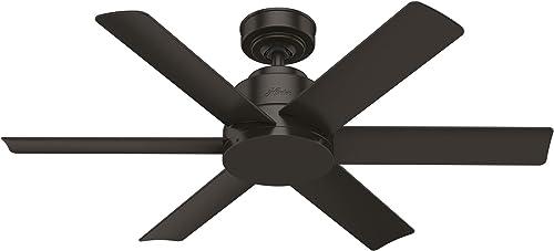 popular Hunter sale Kennicott Indoor / online Outdoor Ceiling Fan with Wall Control online