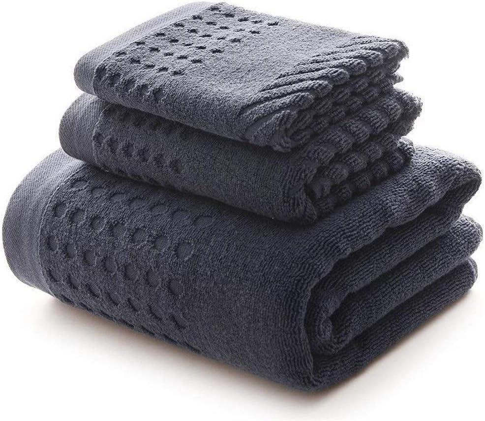 WGGTX Towel Bath Absorbent Super sale period limited Men 100% Large A surprise price is realized Cotton Set