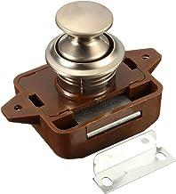 Drukknop vergrendeling Keyless Kast Lock Catch Kast Deur Knop Klink Lock 1 Stks voor RV Motor Caravan