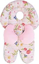 Boppy Head & Neck Support, Pink Stripe Flowers, Head Support for Infants