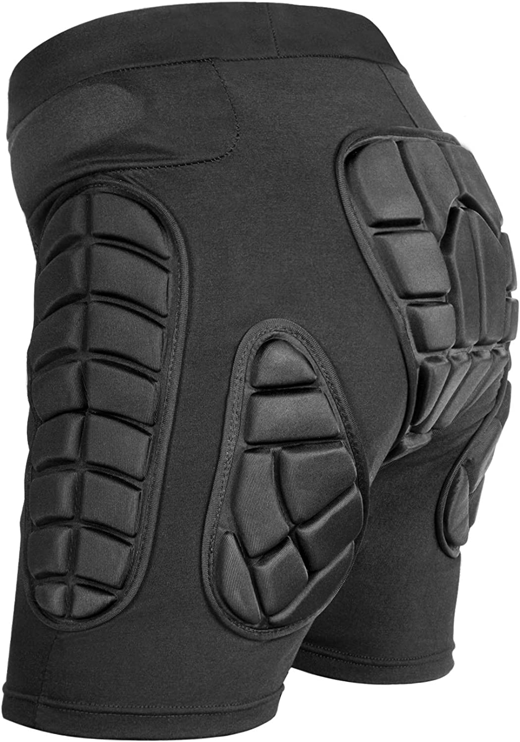 Protective Padded Shorts,3D Protection for Hip,EVA Pad Short Pants Protective Gear