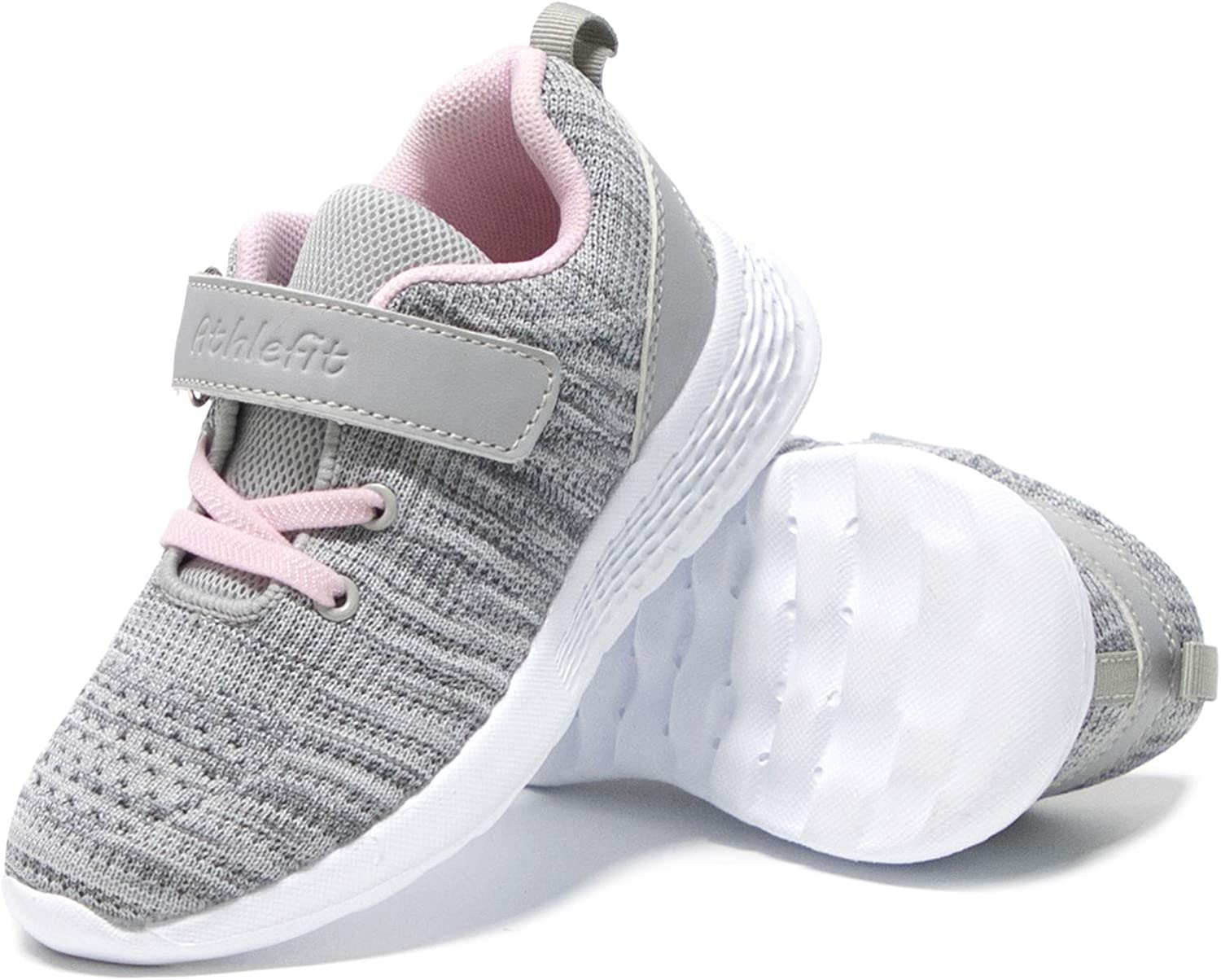 Athlefit 4 years warranty Toddler Little Girls Boys Shoes Sneakers Kid Lightweigh Popularity
