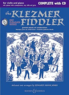 The Klezmer Fiddler (New Edition) - Complete Edition - Fiddler Collection - violin (2 violins) and piano, guitar ad lib. -...