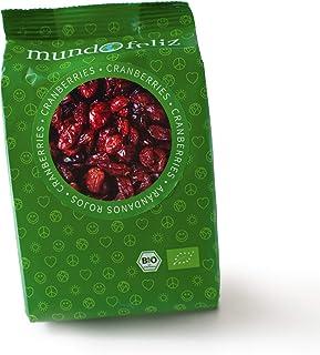 comprar comparacion Mundo Feliz - Arándanos rojos ecológicos deshidratados, 5 bolsas de 100g