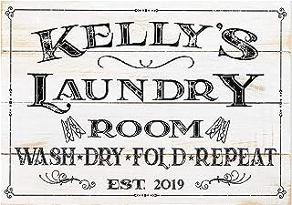 Antique Vintage Floral Black White Door Room Sign Toilet Laundry Bathroom
