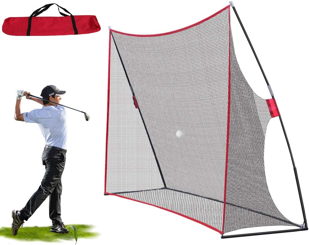 Large 10x7FT Ranking TOP5 Portable Golf Net Training Carry Very popular with Bag