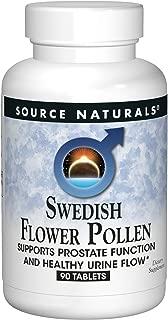 Source Naturals Swedish Flower Pollen Extract Supplement - 90 Tablets
