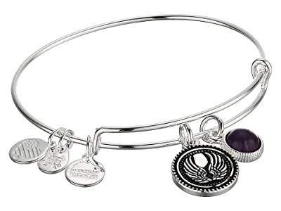 Alex and Ani Duo Charm Bangle Bracelet (Silver/Angel) Bracelet