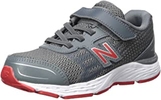 New Balance Kids` 680V5 Hook and Loop Running Shoe