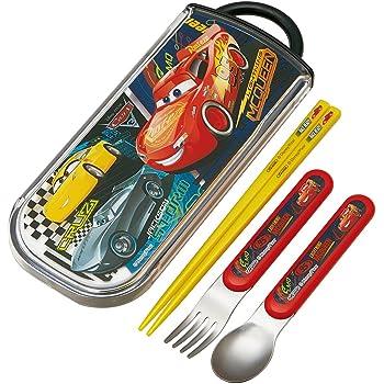 スケーター トリオセット スライド式 箸 スプーン フォーク セット カーズ3 クロスロード ディズニー ピクサー TCS1AM