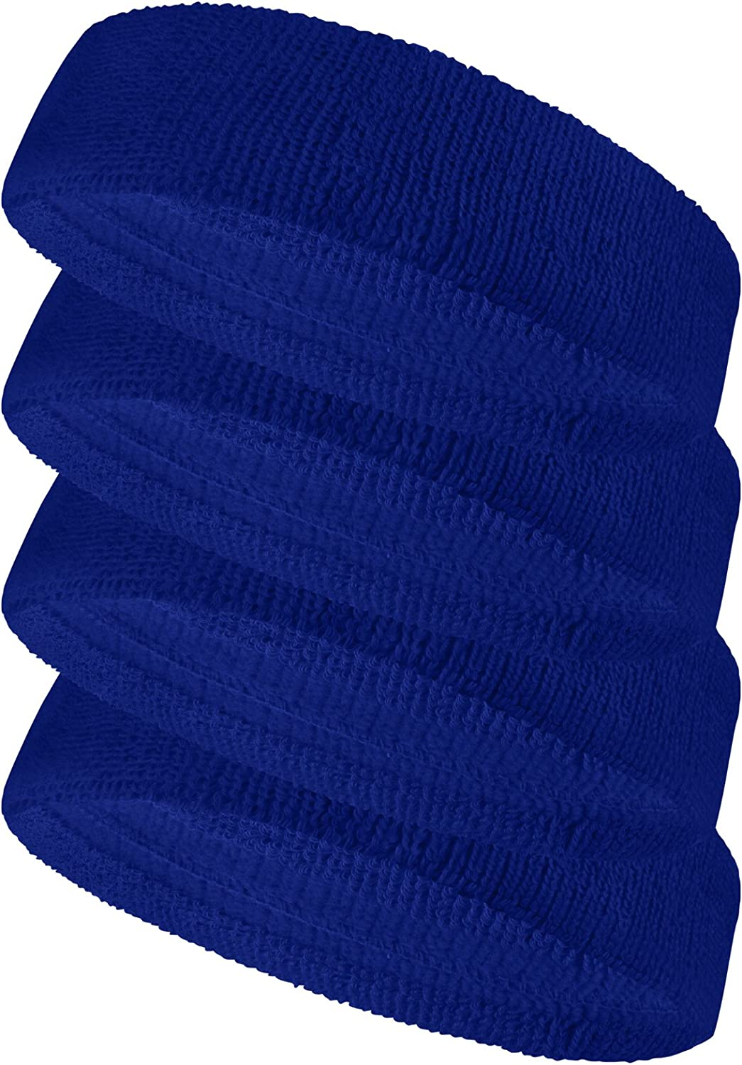 Soccer Headbands Wide Comfortable /& Stay On Sweatbands Bright Durable Lime
