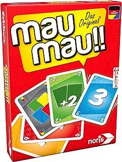Noris 606264441, Mau Mau, das weltbekannte Kartenspiel mit e