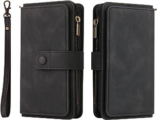 NEINEI Hoesje voor OPPO Find X3 Neo Case,Flip Leer Hoes met [Magnetisch][15 Kaartsleuf][Staande Functie],PU/TPU Wallet Pro...