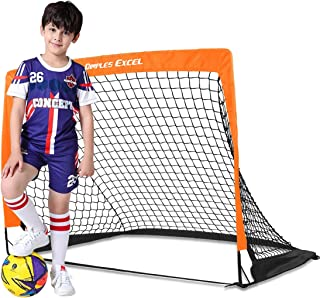Dimples Excel Soccer Goal Kids Soccer Net for Backyard...