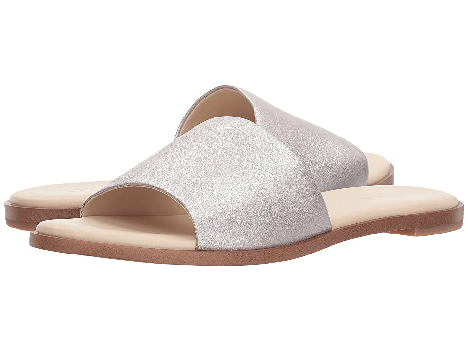 Cole Haan Anica Slide Sandal (Rose Gold Metallic Suede) Women
