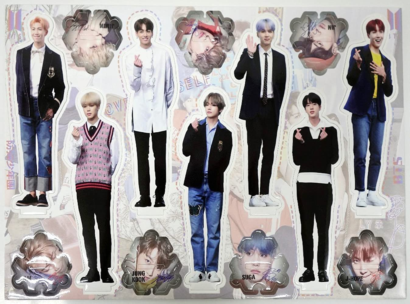 BTS BANGTAN BOYS - STANDING PAPER [MINIATURE STANDUPS]