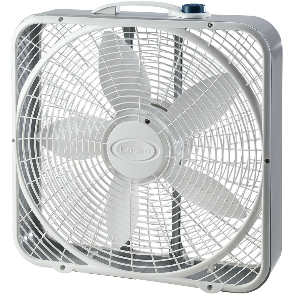 Lasko 20 Power Plus Box Fan 3 Speed - Ventilador (Ventilador con ...