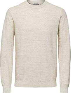 SELECTED HOMME Slhbuddy Crew Neck W Noos Maglione Uomo
