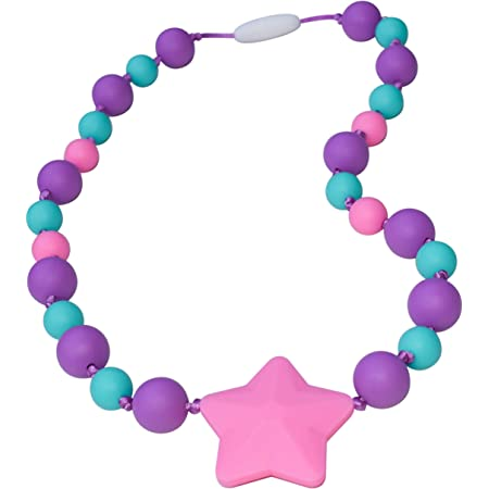 ADHD Silicone Necklace special needs chewelry beads autism sensory Aspergers break away necklace