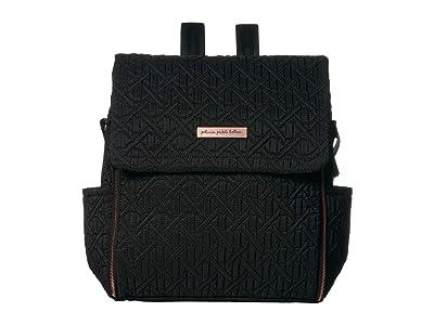 petunia pickle bottom Embossed Boxy Backpack (Moonless Rose) Diaper Bags