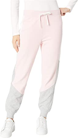 Track Terry Color Block Pants